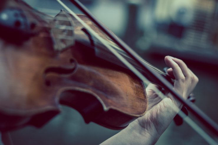 Interview with BMS Violinist James Warburton